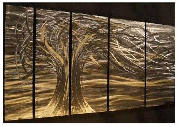 Wood And Metal Wall Art best 25+ contemporary metal wall art ideas on pinterest