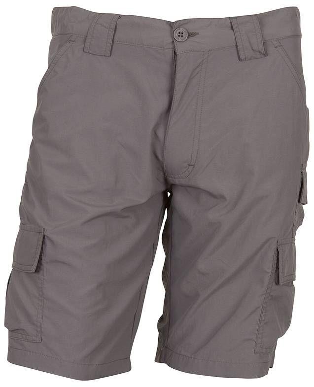 Life-Line Inkosi korte broek heren, UPF40+, Sneldrogend, kleur Donkergrijs Inkosi korte broek voor heren in het donkergrijs, voorzien van veel opbergzakken. Brede riemlussen voor gps of wandelkaart, UPF40+ en zeer sneldrogend. Prijs: € 44,95