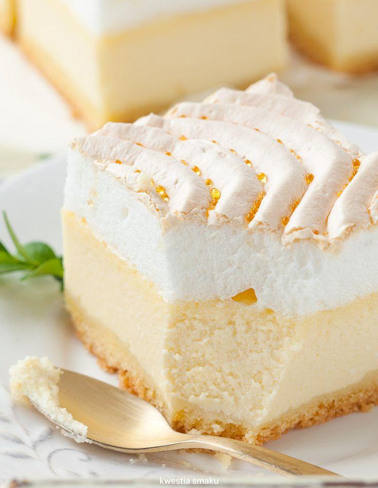 "Traditional Polish ""Golden Dew"" Cheesecake"