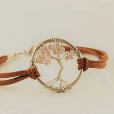 Bracelet arbre de vie fait main