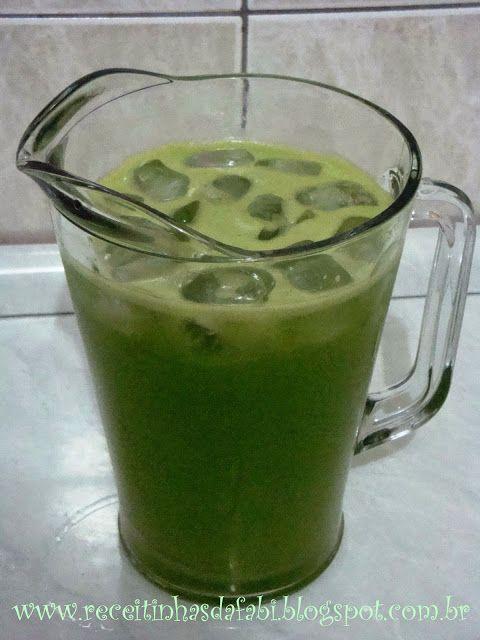 Receitinhas da Fabi: Suco de Limão com Ora-Pro-Nobis