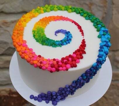 270 best Rainbow Cakes images on Pinterest Anniversary cakes