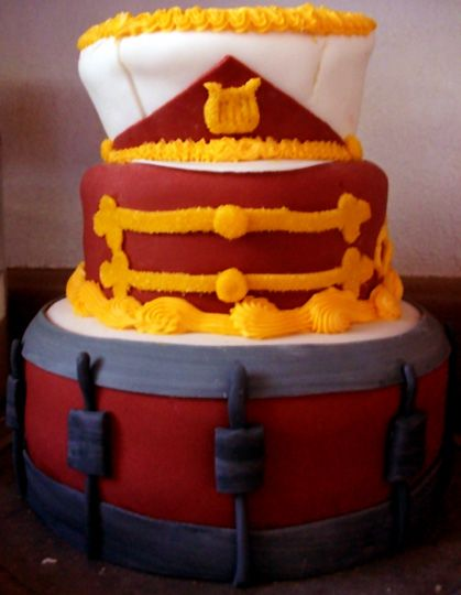 Marching Band Cake by Er-ca.deviantart.com  want want want want