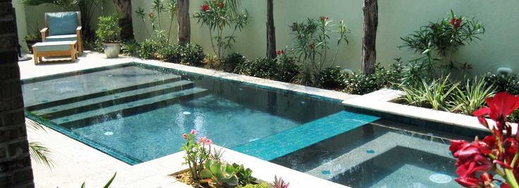 Swimming pools for small backyards | luxury pools, Discover how a small swimming pool can maximize your backyard space. Description from joystudiodesign.com. I searched for this on bing.com/images