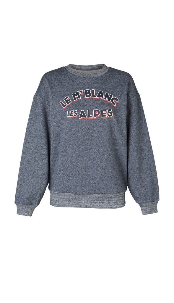 Elka Collective Le Mont Blanc Crew Neck Sweater