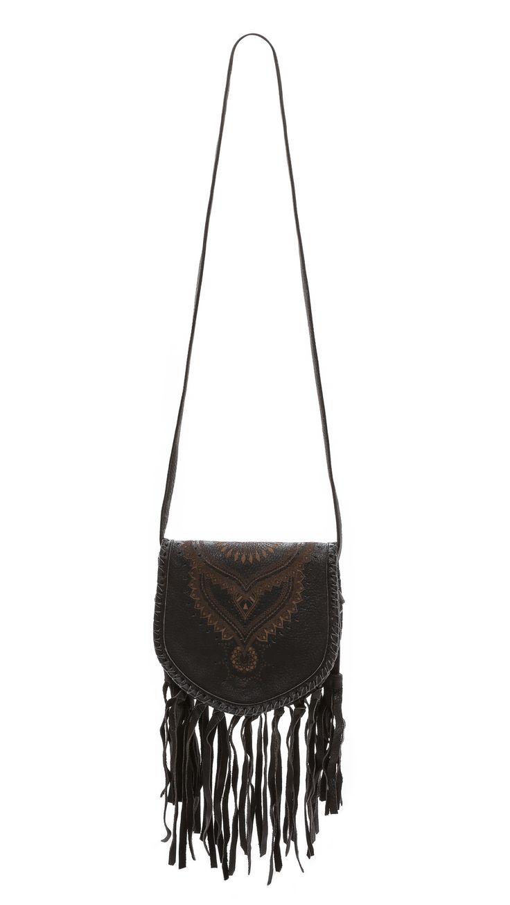 Cleobella Богемная сумка-портфель с бахромой