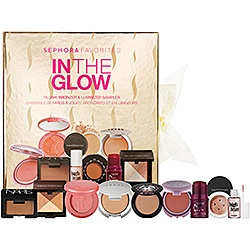 """Ooooo...this set gets glowing reviews. ;-) a little late in the season to use all the products but might snatch it up for my collection anyway. Living in SF, every girl could use a little more """"color"""".     Sephora Favorites - In The Glow Set  #sephora"""