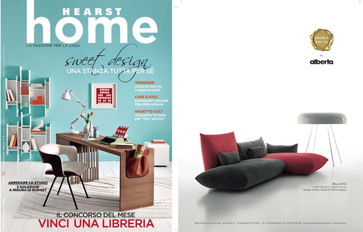Home Magazine - May, 2012  Bellavita Sofa - Golden Young Collection by #Alberta #Pacific #Furniture