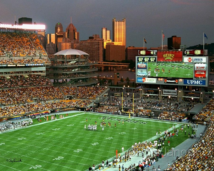Nothing like Heinz Field on game day.