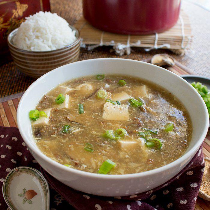 Suan La Tang (u9178u8fa3u6c64) Hot and Sour Soup