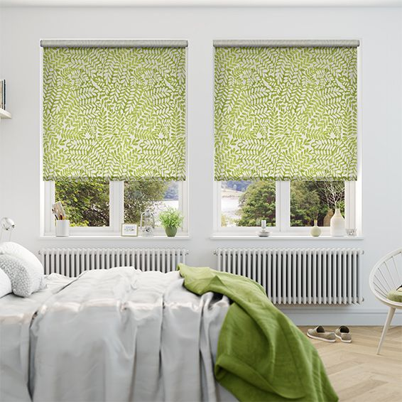 Choices Artemis Apple Green Roller Blind from Blinds 2go