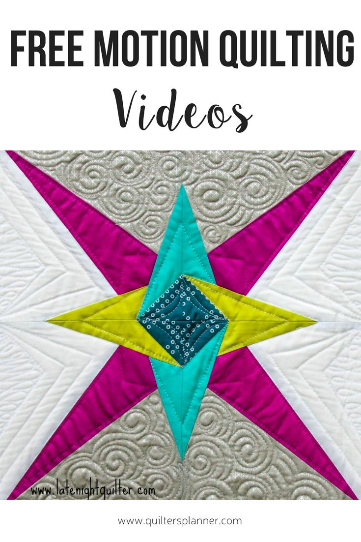 These Free Motion Quilting Youtube Tutorials Are Easy To Follow And Perfect  For Beginners This