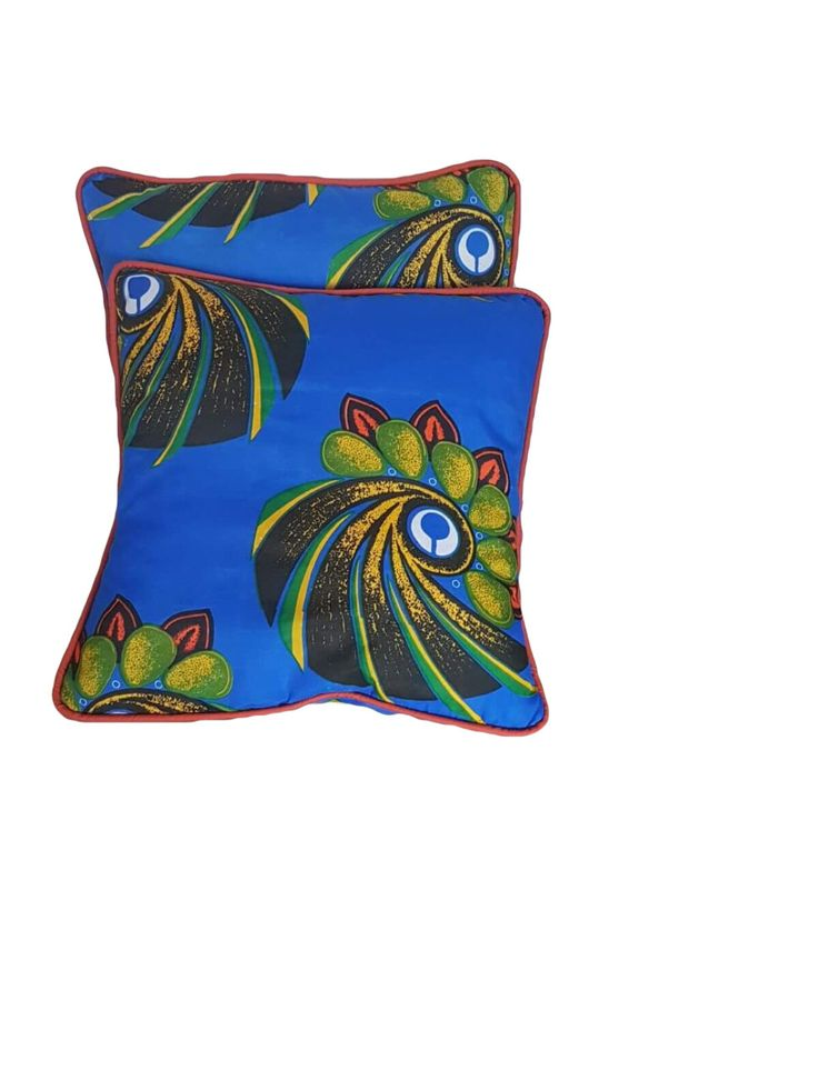African Fabric Cushion Covers by Salako on Etsy