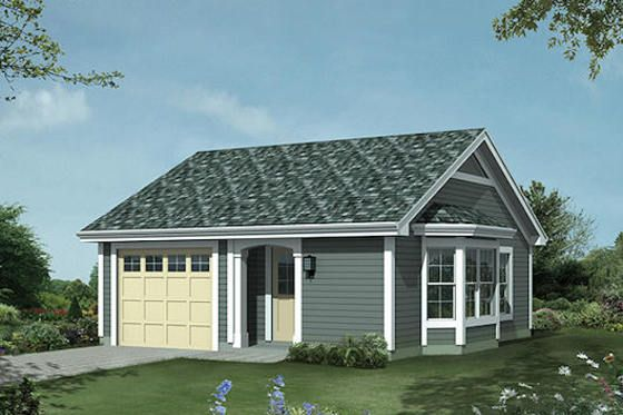 House Plan 57-397 - For the in-laws