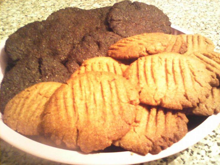 Μπισκότα σοκολατένια και κανέλας με στέβια, για διαβητικούς! |