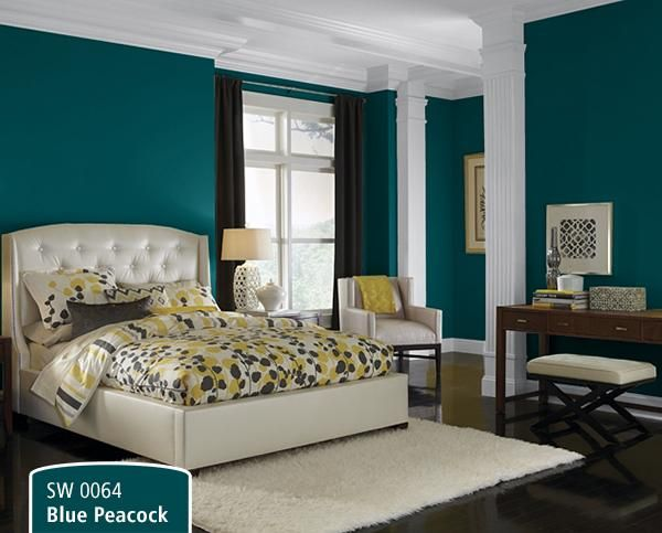 best 25 peacock blue bedroom ideas on pinterest - Bedroom Colors Blue