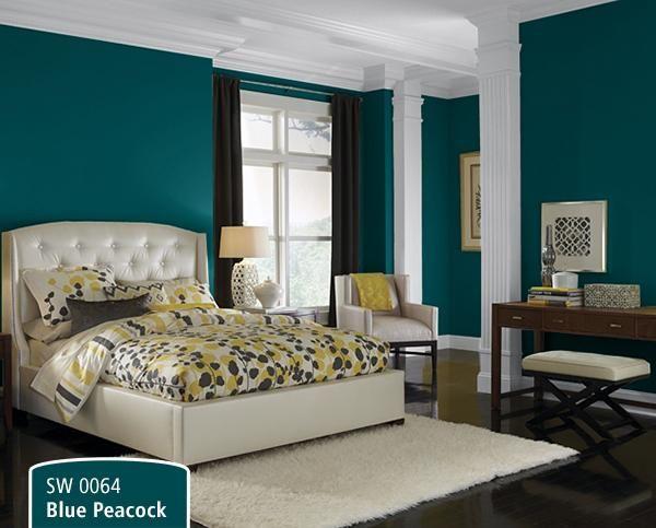 25 best ideas about Peacock Blue Bedroom on PinterestPeacock