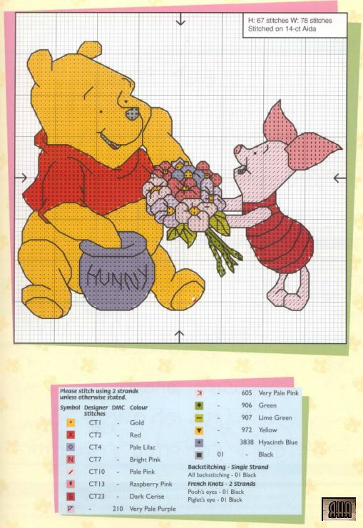 Pooh Greeting Cards-