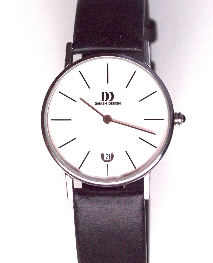 Danish Design expresses their uniqueness through simple lines and elegance creating nobel minimalistic unisex models like this watch, €150,- for €75,- www.megawatchoutlet.com