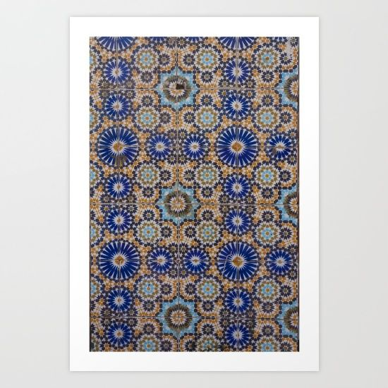 Collect your choice of gallery quality Giclée, or fine art prints custom trimmed by hand in a variety of sizes with a white border for framing. https://society6.com/product/morocco-40_print?curator=wellglow