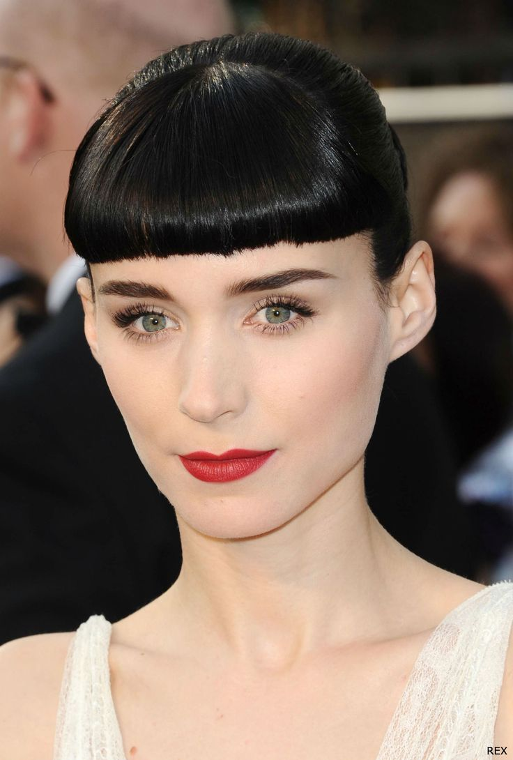 The Girl with the Dragon Tattoo star Rooney Mara at the 84th Academy Awards.