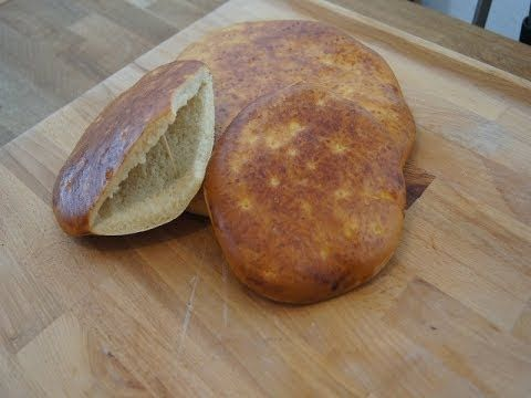 Jak zrobić  Turecki chleb Pide na kebab (Fladenbrot)