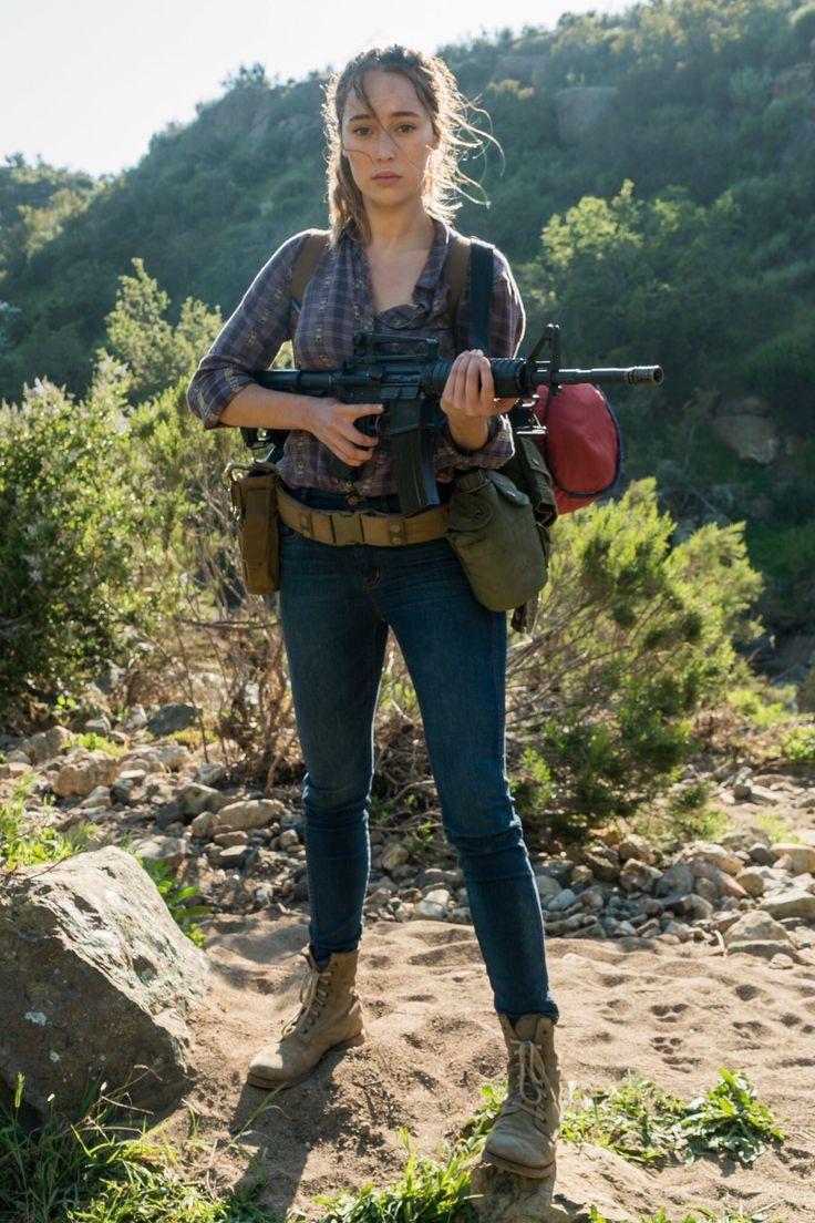 Alycia Debnam Carey As Alicia Clark On Fear The Walking Dead