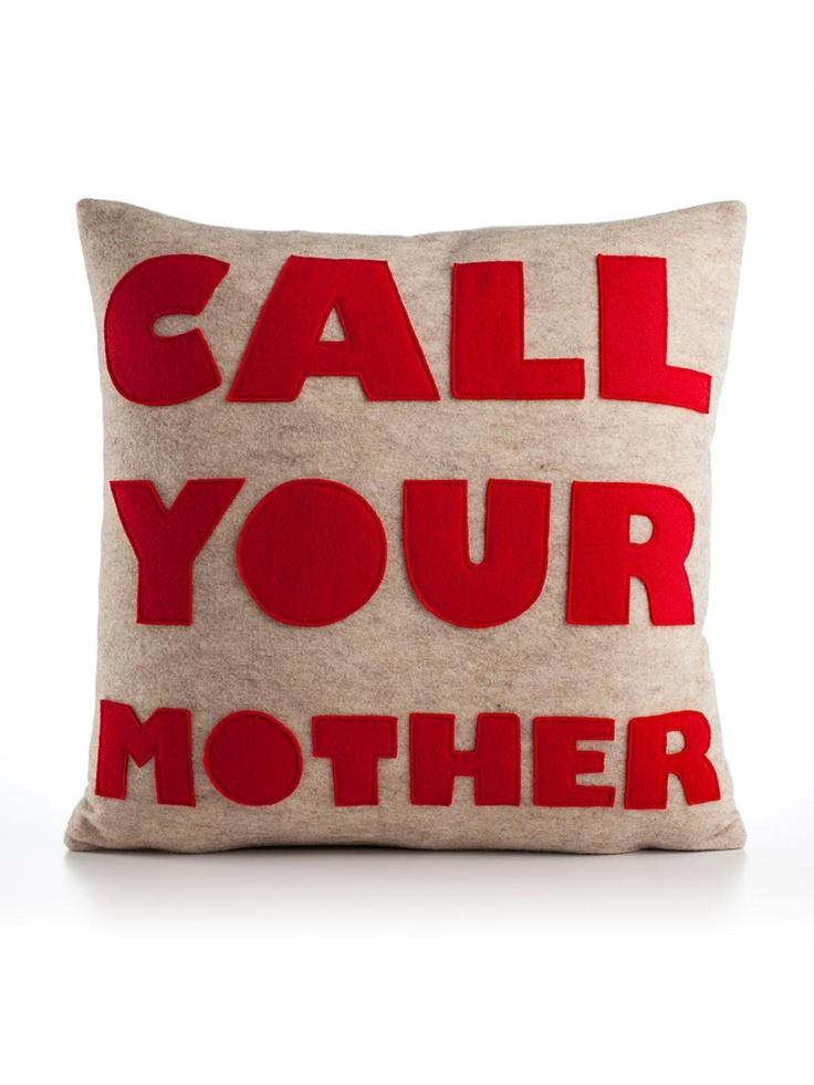 Alexandra Ferguson - Call Your Mother 16x16 Pillow