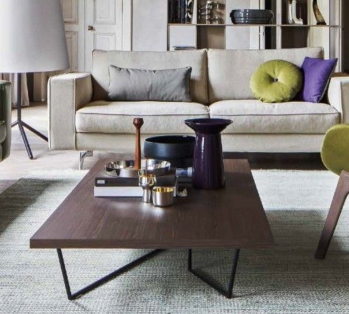 Square Sofa Low-T Coffee table