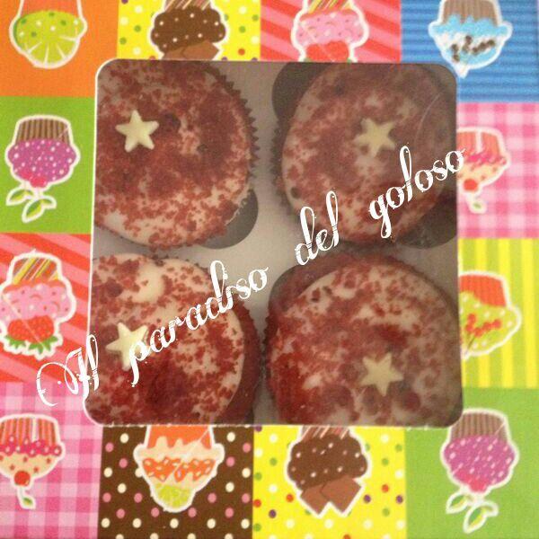 gustosissimi cupcake red velvet #CUPCAKE #halloween #solocosebuone #bakery #torte #cake #yummy #sugar art #patisserie #desserts #sweettooth #chocolate #eat #yum #delicious #tasty #hungry #yum #icecream #foodpics #TagsForLike