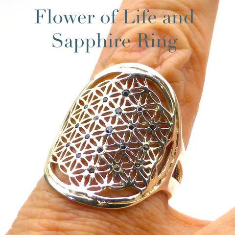 Ring Flower of Life