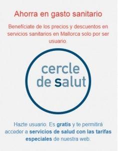 Ser socio del Cercle de Salut no requiere cuotas mensuales o seguros