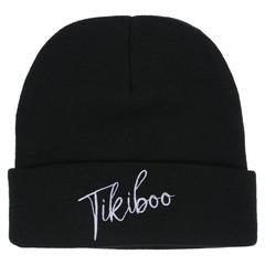 Tikiboo Black Signature Beanie £12.99 #Activewear #Gymwear #FitnessLeggings #Leggings #Tikiboo #Running #Yoga