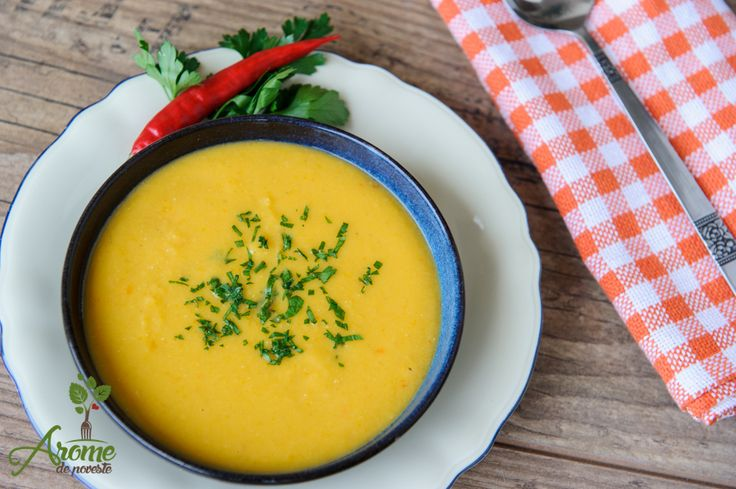 Supa crema de linte - Arome de poveste