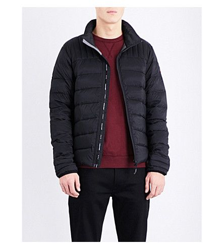 CANADA GOOSE Brookvale quilted shell jacket. #canadagoose #cloth #