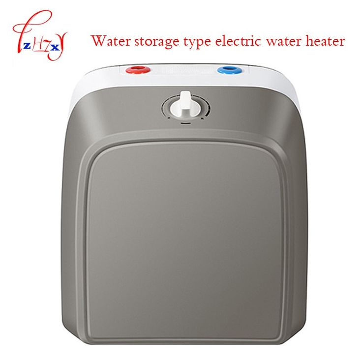 Home Use Electric Water Heater Small Tank Storage Water Heater Es6 6fu Household Kitchen Hot Water Vertical Type 1pc