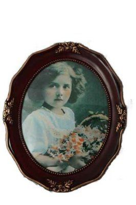 Deluxe Antique Oval Shape Photo Frame Size 8x10 Amazon