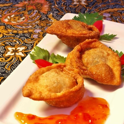 Pangsit Goreng or Indonesian Wontons are one of my favorite Indonesian appetizers. There are so many variations of this appetizer for some are made with chicken, shrimp, pork or beef. The recipe ...