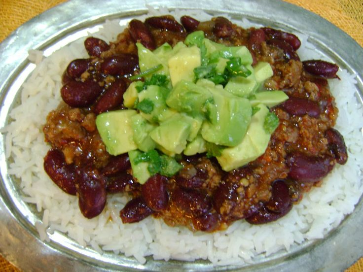 Cozy Green Kitchen: CHILI CON CARNE