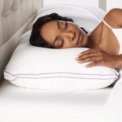 Super Soft.......................   BioSense Memory Foam Shoulder Pillow with Better Than Down Cover by Brookstone, http://www.amazon.com/dp/B0039LEC1A/ref=cm_sw_r_pi_dp_yzKyrb00R3RQS