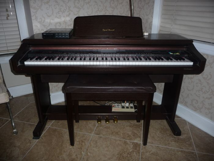 This is a Technics PR-305 Digital Piano that l own with the serial number 794A2104. It has a Yamaha FB01 serial number 17945. I like this Technics PR-305 Digital Piano. It`s my favorite Digital Piano.