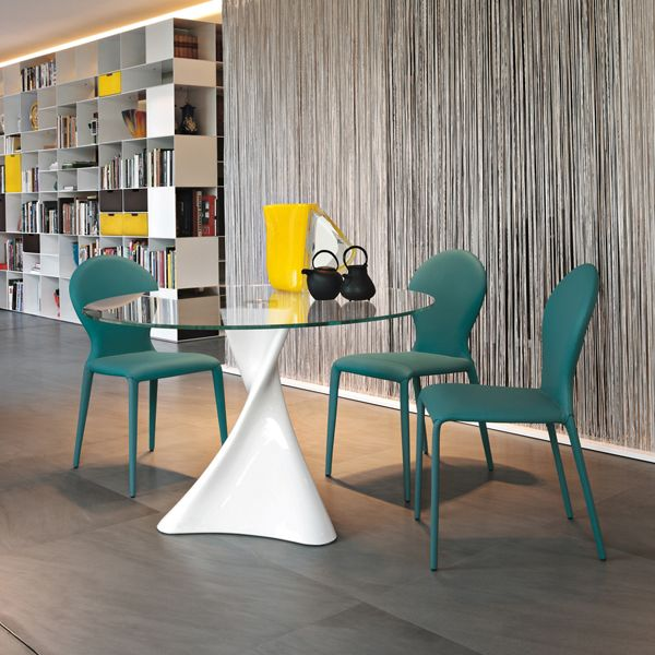Discover All The Information About The Product Contemporary Dining Table /  Marble / Tempered Glass / Round LA DEFENSE   Tonin Casa And Find Where You  Can ...