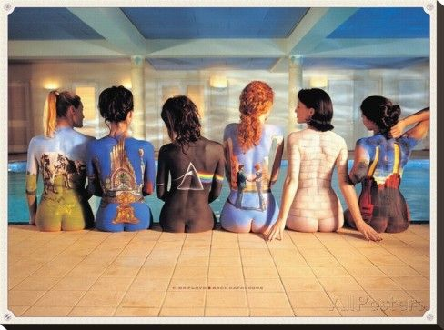 Pink Floyd-Back Catalogue Stretched Canvas Print at AllPosters.com
