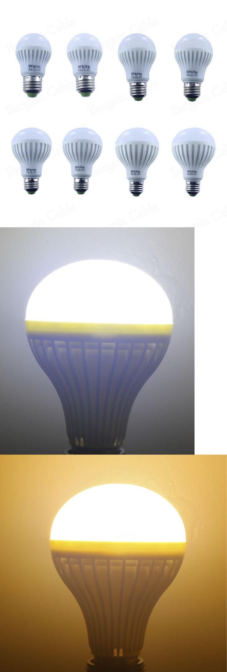 1000 images about lightbulb things on pinterest lightbulbs bulbs - Household Items 3w 5w 7w 9w 12w E26 Dimmable Non Dimmable 110v Warm Cool White