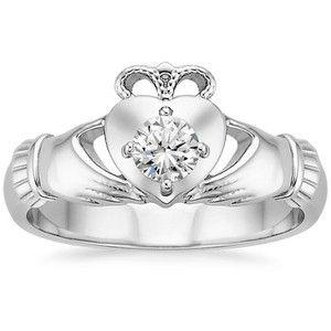 Introducing the Claddagh Pre-set Diamond Ring! #BrilliantEarth #Diamonds