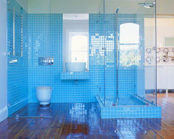 Mosaic Summer Bathrooms