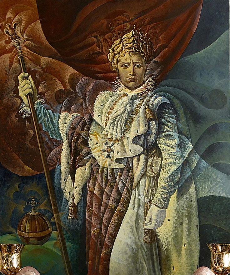 Imperatore (Napoleone) Acrilico su tela 120x100