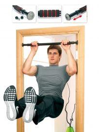 Турник с регулируемой длиной «ВОРКАУТ» АРТИКУЛ: SF 0074 Турник - это домашний тренажер для тренировки мышц всего тела, который также будет полезен для здоровья позвоночника, ведь висы на перекладине в расслабленном состояние уменьшают давление межпозвоночных дисков и способствуют формированию красивой и здоровой осанки. Турник с регулируемой длиной «ВОРКАУТ» очень удобен в использовании – он разработан так, чтобы соответствовать наиболее распространенным размерам дверных проемов. Тренажер…