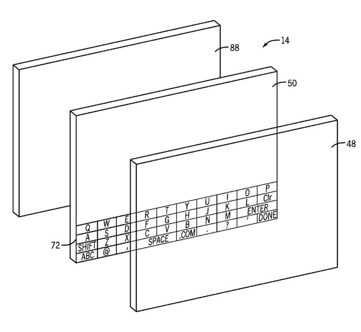 Apple patent is for a transparent screen that could be used for AR purposes