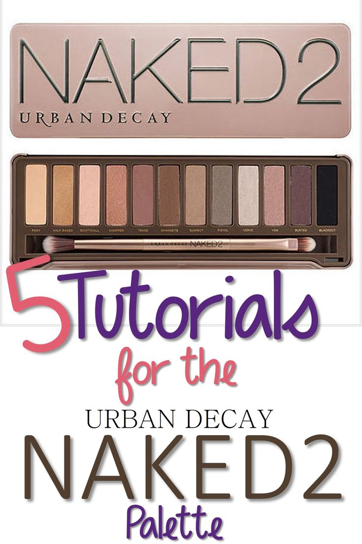 5 Tutorials Using the Urban Decay Naked 2 Palette